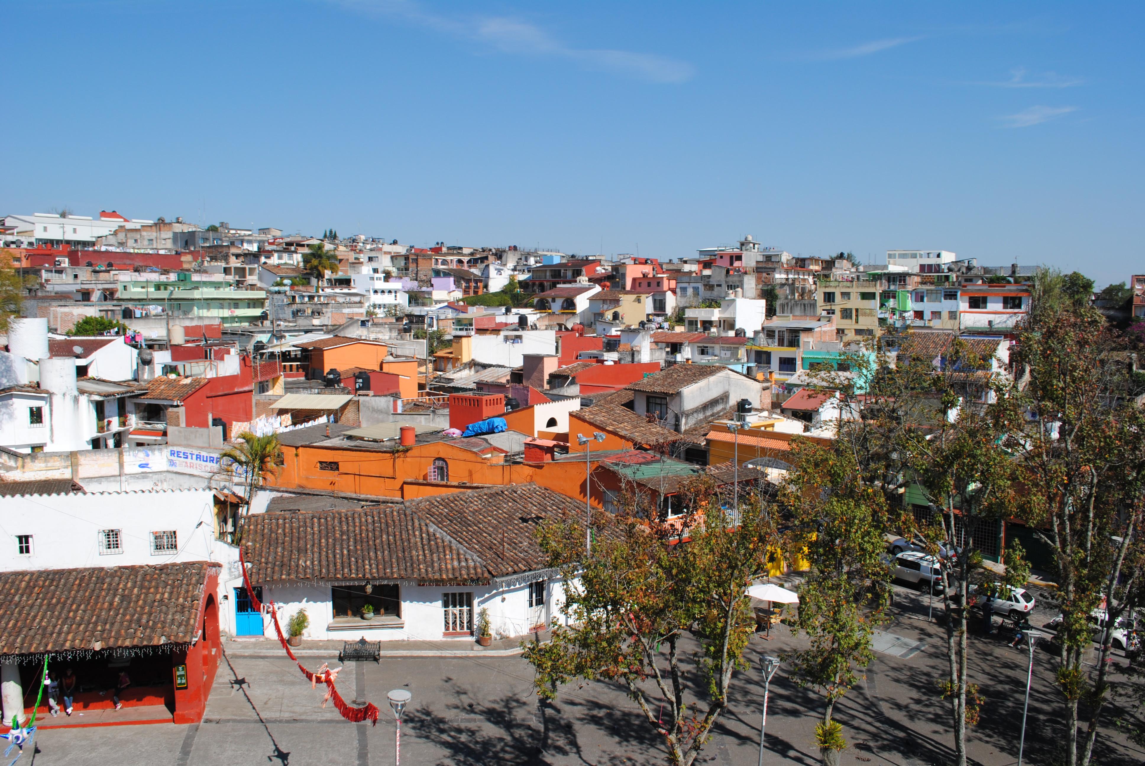 Xalapa Mexico  city photos : city view of Xalapa, Mexico.